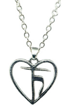 Heart Pendant Satya Yoga The Heart of Truth Necklace Enlightening Protection