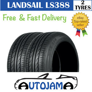 """X2 155 65 14 155/65R14 75T NEW LANDSAIL TYRES, GREAT """"C"""" RATING FOR WET GRIP!"""