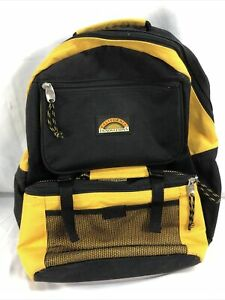 California Innovations Insulated Backpack Vintage 🎒 Yellow And Black