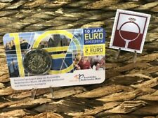 2 EURO COINCARD NEDERLAND 2012 - 10 JAAR EURO - BU KWALITEIT