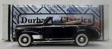 Durham Classics 1/43 Scale DCJ04 - 1941 Chevrolet Deluxe Convertible - Dk Blue
