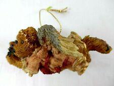 "Boyds Bears Rare Retired Resin Ornament ""Hope.The Angel Bear w/ Wreath"" Nib!"
