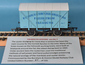 Dapol Famous Cornish Oysters Fresh From Falmouth Ventilated Van Nº 7 - LE of 105