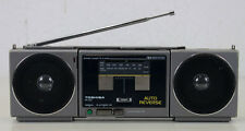 TOSHIBA RT-CS1-2 Hochwertiger Stereo Kassetten Player mini Boombox Ghettoblaster