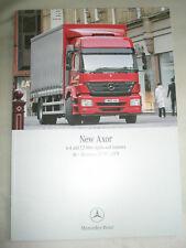 Mercedes Axor 6.4 & 7.2 litre Tractors 18-36 tonne truck range brochure May 2005