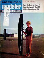 Vintage American Modeler Magazine Apr 1967 Vespa Last Word in Multi RC m1011
