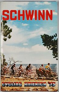 C.1975 Schwinn Cycling America Booklet. Bicentennial Patriotic. Bikes. Bicycle