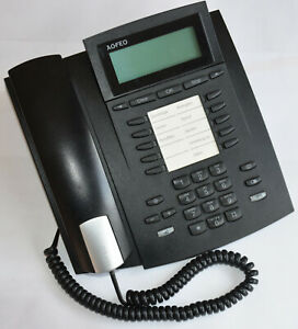 Agfeo ST31 ST 31 ISDN S0 Systemtelefon schwarz + Rechnung + Gewährleistung