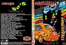 Nostalgia V9 80s Essentials Music Video DVD No1s & Smash Hits Promo For Home Use