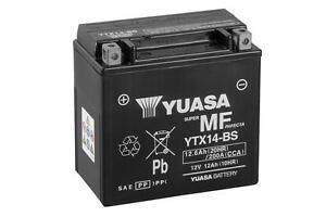 Batería Yuasa YTX14-BS 12V 12Ah | BTX14-BS | ytx14bs | ptx14-bs | ¡Envio 24h!