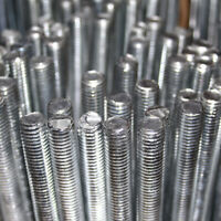 M6 6mm STEEL THREADED METRIC BAR THREAD STUDDING ROD RESIN ANCHOR STUD ZINC