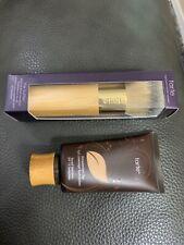 tarte Amazonian Clay Foundation 35h Medium Honey and brush bnib