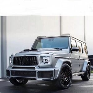 MERCEDES G GLASS G WAGON BRABUS WIDE BODY KIT W464 G63 2019+ SUPPLIED FITTED