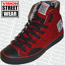 Vision Street Wear Original' 80s Skateboard Chaussures Rouge Pointillé 8 UK/9