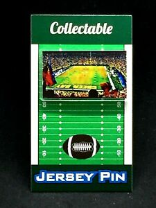 Green Bay Packers Lambeau Stadium lapel pin-Classic styled team Collectible