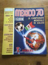 album football panini WC Mexico 70 vide reproduction.