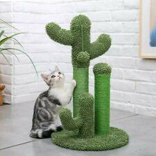 Arbre à chat cactus vert griffoir et grattoir