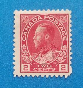 Canada stamp Scott #106 MLH very good original gum. Good colors, perfs. Nice.