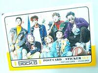 Block B Post Card Set Sticker KPOP JaeHyo U Kown B Bomb TaeIl Zico BlockB Goods
