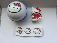 Hello Kitty Sanrio Figur und drei Nass Tatoos