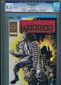 Eternal Warrior #1  (Gold Edition)  CGC 9.2  WP