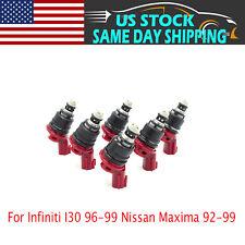 6 X Fuel Injectors Fits Infiniti I30 96-99 Nissan Maxima 92-99 1660096E01