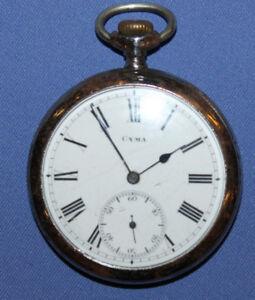 Antique Cyma Brevets Swiss pocket watch