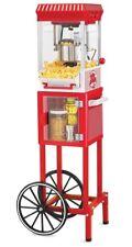 Popcorn Popper Machine Maker Nostalgia Electrics Cart Vintage Red Stand Movie