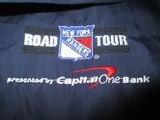 CCM NEW YORK RANGERS Capital One ROAD TOUR Zippered Lined (XL) Jacket