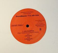 "12"" RAP EP Soundmaster T & Jah-Rista Fasheezy 10908 Swamp Family"