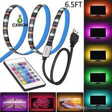 5050 2m SMD RGB USB TV Desktop Computer LED Strip Backlight Lights  Waterproof