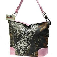 Mossy Oak Camo Pink Bucket Purse, Camouflage Handbag Licensed