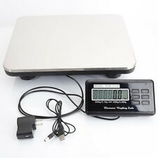 300kg x 100g Digital Floor Bench Platform Postal Scale KG/LB/OZ 660LB