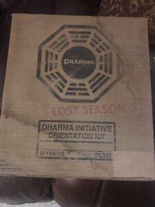 LOST Season 5  Dharma Initiative Orientation Kit Blu Ray  2009  5 Patches