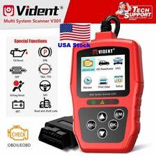 USA Vident V301 Car Diagnostic Tool Seat OBD2 Automotive Scanner OBD Code Reader
