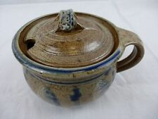 Keramik Marmeladentopf Senftopf / ??? Fischlandkeramik /  ??? nicht gemarkt