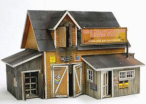 BANTA MODELWORK CRICK HOLLOW HARDWARE HO Model Railroad Structure Kit BM2127