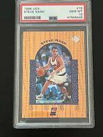 1996-97 UD3 Steve Nash Rookie Card #15 PSA 10 GEM MINT Phoenix Suns