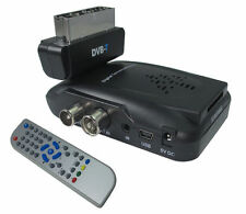 DECODER MINI DIGITALE TERRESTRE DVB-T SCART 180° USB SD MMC 1108V