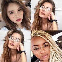 Metal Anti Blue Light Blocking Glasses Thin Frame Men Women Computer Eyeglasses