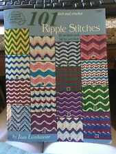 New lis 00006000 ting 101 Knit and Crochet Ripple Stitches - American School of Needlework