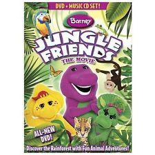 Barney: Jungle Friends The Movie (DVD * Music CD Set, 2009, DVD/CD) New - Sealed