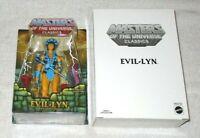 MOTU Classics - Evil-Lyn & shipping box (MOC) - 100% complete