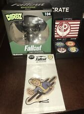 Fallout 4 Collector Pin Set Loot Crate Pip Boy Air Freshner Dorbz Figure 104 Lot