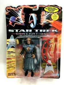 "NEW *Sealed* STAR TREK GENERATIONS 5"" Figure Klingon Lursa"
