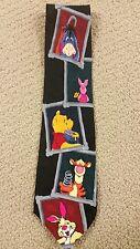 Winnie Pooh by Exquisite Apparel 100% Silk Men's Necktie (T12/B8)