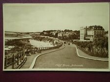 POSTCARD CORNWALL FLAMOUTH CLIFF DRIVE
