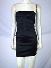 Wet Seal Strapless Wiggle Pencil Little Black Dress Juniors Size Medium 7 9
