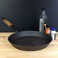 Netherton Foundry Shropshire Made 14'' (36cm) Spun Iron Frying Pan