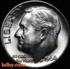 1964-D Roosevelt Silver Dime BU